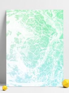 碧绿水纹浪纹手绘风背景