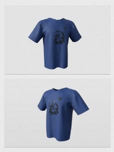 3d模型T恤