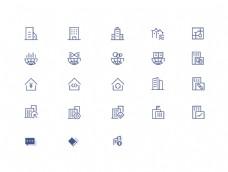 企业规划商务图标