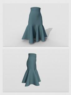 3d模型裙子