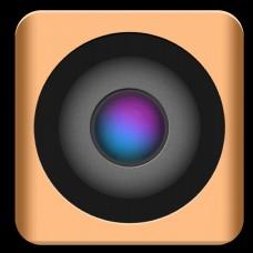 2.5D手机APP摄像机照相机图标GIF