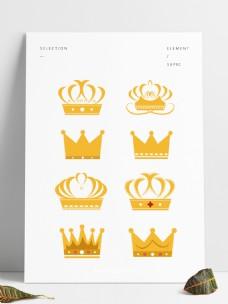 半自由主题皇冠矢量