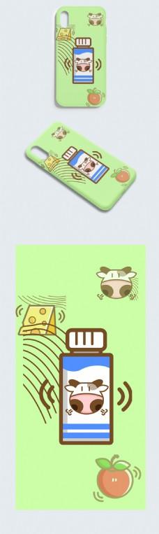 牛奶饮料可爱风格时尚手机壳