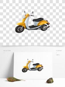 可商用卡通手绘电动摩托车