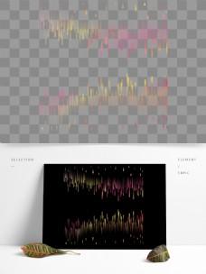 抽象线条渐变科技风色块