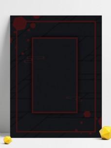 神秘黑色简约几何手机海报背景用图