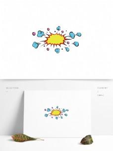 创意手绘惊喜爆炸边框
