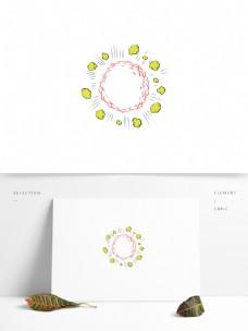 创意手绘装饰边框元素